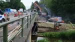 Brückenneubau: Vollsperrung der B 75 an diesem Wochenende
