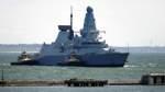 Warnung oder Übung? Moskau und London streiten über britisches Schiff
