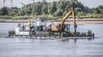 Der Fluss als Baustelle