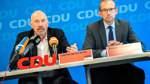 CDU-Führung schwört Delegierte auf Wahlkampf ein