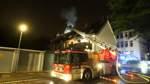 Drei Leichtverletzte bei Großbrand in Walle
