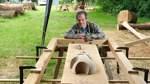 Nachhaltigkeit in Holz verewigt