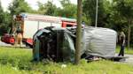 Polizei: Zusammenstoß mit Auto war Ursache