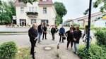 Huder Gemeindestraße als Rennstrecke