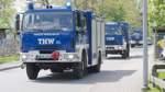 Über 300 THW-Kräfte aus Niedersachsen und Bremen helfen in NRW