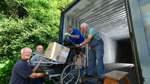 Ein Container voll mit Hilfe