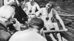 Als das VRV-Boot Olympia-Silber gewann