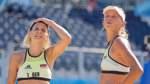 Deutsche Beachvolleyballerinnen starten mit Niederlagen