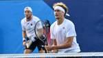 Tennis-DoppelZverev/Struff erreicht Achtelfinale