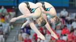 Wasserspringerinnen Punzel und Hentschel holen erste deutsche Medaille