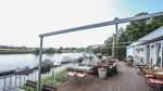 Traumhafte Aussicht vom Bootshaus