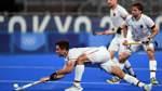 Hockey-Herren spielen gegen Indien um Bronze