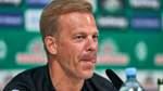 """Werder-Trainer Anfang macht Druck: """"Will langsam mal einen Spieler"""""""