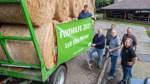 Start in Oyten: Ein Hilfskonvoi mit rund 80 Traktoren