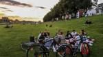 Osterdeich: Entspannte Stimmung an der Weser