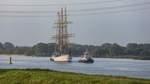 """""""Schulschiff Deutschland"""" in Bremerhaven angekommen"""