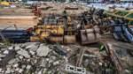 Weil Holz fehlt: Arbeiten am Straßenbahndepot verzögern sich