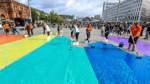Ein Regenbogen für Akzeptanz und gleiche Rechte