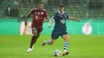 Das Fernsehen täuscht im Spiel gegen Bayern München