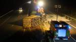 Lkw-Fahrer wird schwer verletzt