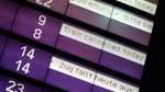 Erneut Zugausfälle und Verspätungen am Freitag
