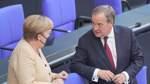 Merkel empfiehlt Laschet als ihren Nachfolger