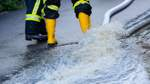 Gewitter und Starkregen lassen im Bremer Westen Keller volllaufen