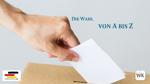 Bundestagswahl von A bis Z