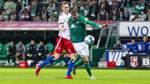 Der HSV jubelt in Bremen: So lief das erste Zweitliga-Nordderby