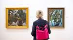 Ausstellung zu sechs Lebensjahren des Malers