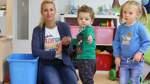 Abwechslungsreicher Alltag mit zehn Kindern