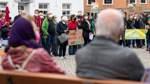 Klimastreik mit etwa 200 Teilnehmern