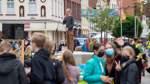 Aktivisten setzen vor der Bundestagswahl Zeichen für Klimaschutz
