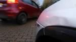 Unfallflucht auf Parkplatz