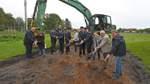 Baubeginn für Grasberger Feuerwehrhaus
