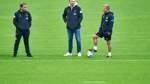 Offene Personalie Baumann ist für Werder-Coach Anfang kein Problem