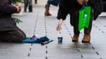 Armut nimmt während der Pandemie zu