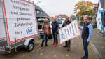Kunden bleiben weg: VdS Langwedel stellt eigene Schilder auf
