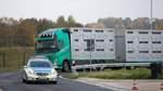 Wie die Polizei sich für Kontrollen von Tiertransportern schult